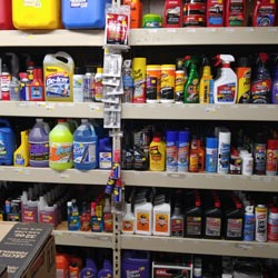 part of our auto parts inventory