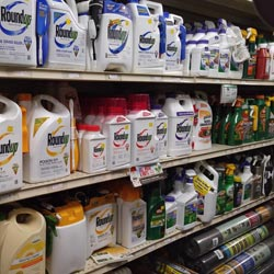 we stock a wide varitey of lawn and garden chemicals