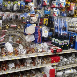 We carry many common plumbing supplies